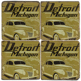 Detroit Drink Coasters