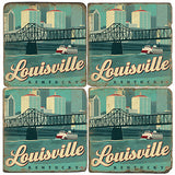 Louisville Drink Coasters