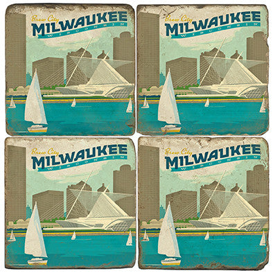 Milwaukee Drink Coasters