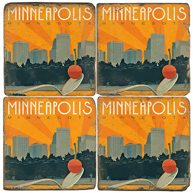 Minneapolis Drink Coasters