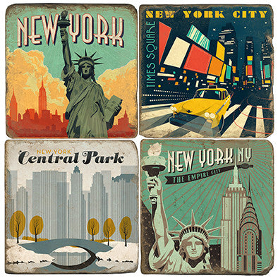 New York City Drink Coasters