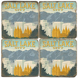 Salt Lake City Drink Coasters