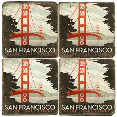Golden Gate Bridge Drink Coasters