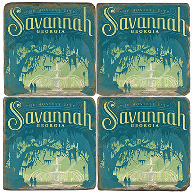 Savannah Drink Coasters