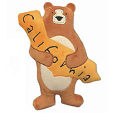 California Bear Hug Pillow