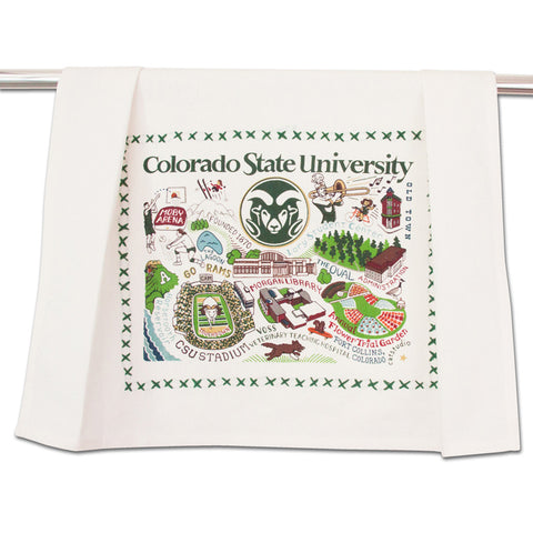 Colorado State Collegiate Dish Towel