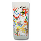 Canada Frosted Glass Tumbler