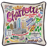 Charlotte Hand-Embroidered Pillow