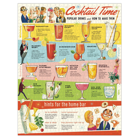 Cocktail Time Jigsaw Puzzle