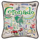 Coronado Hand-Embroidered Pillow