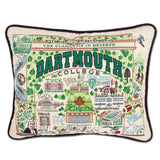 Dartmouth Collegiate Embroidered Pillow