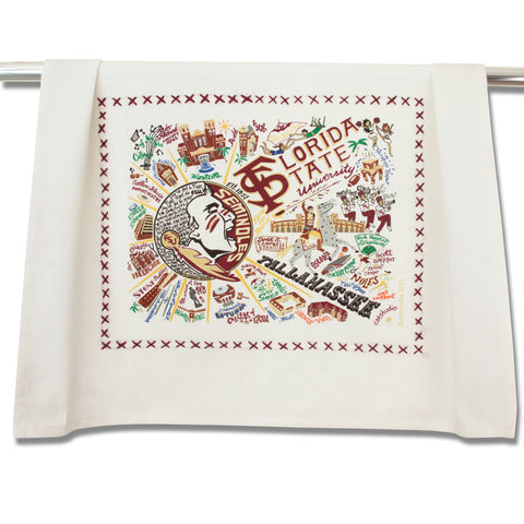 Florida State Collegiate Dish Towel