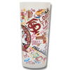 Florida State University Collegiate Frosted Glass Tumbler