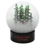 Redwood Forest California Fog Globe