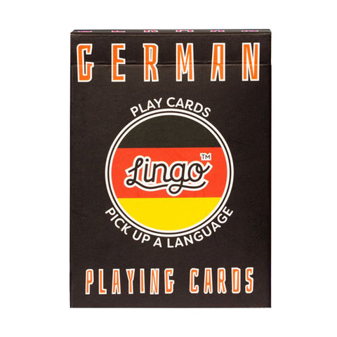 German Lingo Cards