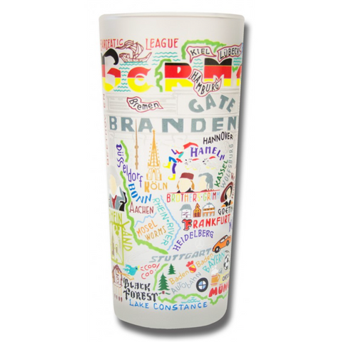 Germany Frosted Glass Tumbler