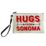Hugs From Sonoma Pouch