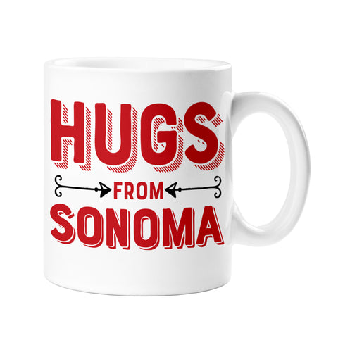 Hugs From Sonoma Ceramic Mug