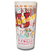 Indiana University Collegiate Frosted Glass Tumbler