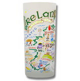 Ireland Frosted Glass Tumbler
