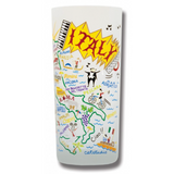 Italy Frosted Glass Tumbler