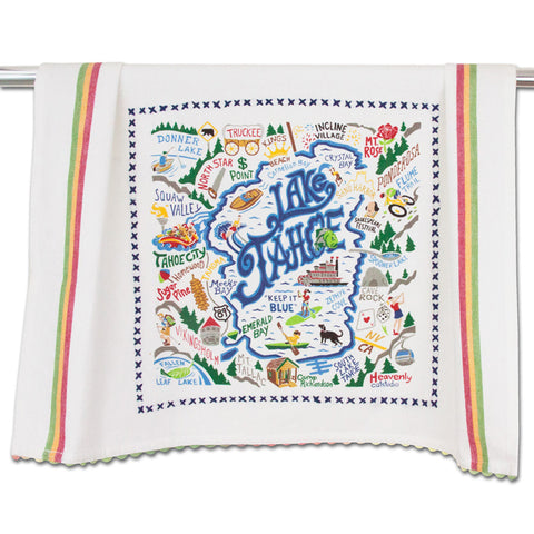 Lake Tahoe Dish Towel