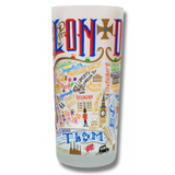 London Frosted Glass Tumbler
