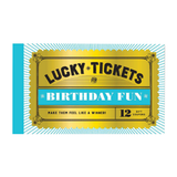 Lucky Tickets for Birthday Fun