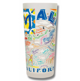 Malibu Frosted Glass Tumbler
