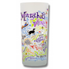 Martha's Vineyard Frosted Glass Tumbler