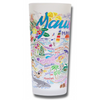 Maui Frosted Glass Tumbler