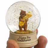 Mini CA Bear Hug Water Globe