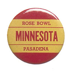 Minnesota 1961, 1962 Rose Bowl Pin