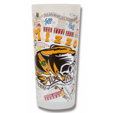 University of Missouri (Mizzou) Collegiate Frosted Glass Tumbler