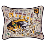 University of Missouri (Mizzou) Collegiate Embroidered Pillow