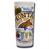 Montana State University Collegiate Frosted Glass Tumbler
