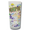Napa Valley Frosted Glass Tumbler