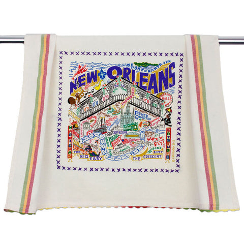 New Orleans Dish Towel