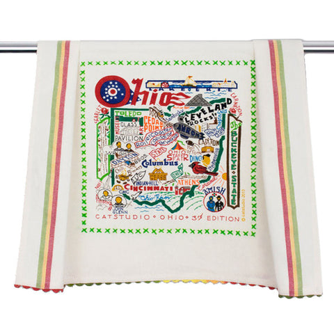 State of Ohio Dish Towel