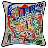 Ottawa Hand-Embroidered Pillow
