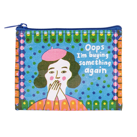 Oops, Buying Something Coin Purse