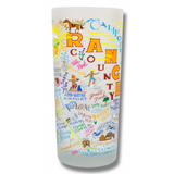 Orange County Frosted Glass Tumbler