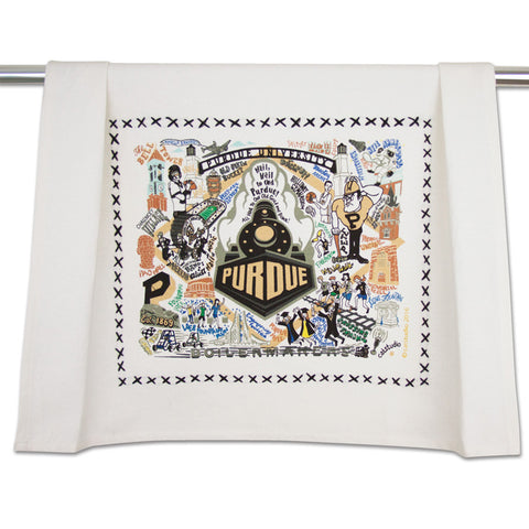 Purdue University Collegiate Dish Towel