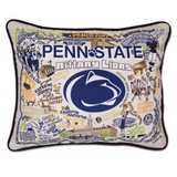 Penn State Collegiate Embroidered Pillow