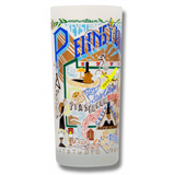 State of Pennsylvania Frosted Glass Tumbler