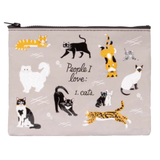 People I Love Zipper Pouch