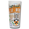 Princeton University Collegiate Frosted Glass Tumbler