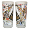 Purdue University Collegiate Frosted Glass Tumbler