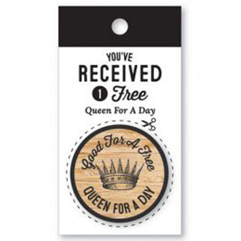 Wooden Nickel - Queen For A Day