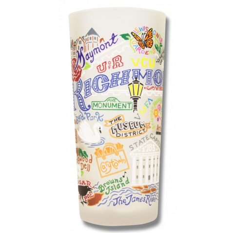 Richmond Frosted Glass Tumbler